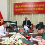 Phó Thủ tướng Nguyễn Xuân Phúc chủ trì cuộc họp giao ban ba Ban chỉ đạo