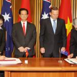 Tuyên bố tăng cường Đối tác toàn diện giữa Việt Nam-Australia