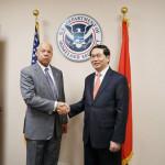 Bộ trưởng Trần Đại Quang hội đàm với Bộ trưởng An ninh nội địa Hoa Kỳ