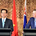 Thủ tướng Việt Nam hội đàm với Thủ tướng New Zealand