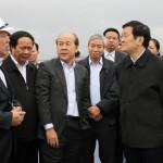 Chủ tịch nước dự lễ khai trương tổ hợp công nghệ LG Hải Phòng.