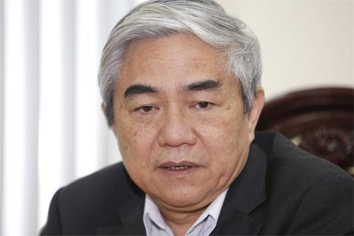 Bộ trưởng Nguyễn Quân cho răng: 'Doanh nghiệp là địa chỉ ứng dụng công nghệ quan trọng nhất'