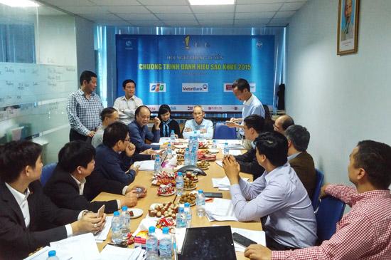 Hội đồng chung tuyển Sao Khuê 2015