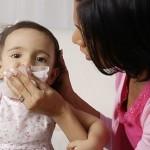 Các bệnh hô hấp ở trẻ thường gặp khi thời tiết chuyển mùa