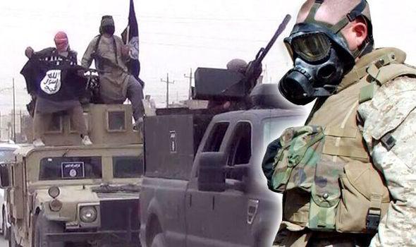 Tình báo Đức và Mỹ đều tuyên bố có bằng chứng về việc IS sử dụng vũ khí hóa học. Ảnh: Getty