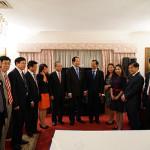 14/9: Đại tướng Trần Đại Quang thăm và nói chuyện với cán bộ, nhân viên Đại sứ quán Việt Nam tại Australia