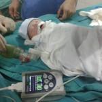 Thai phụ bị bỏng 98% – mổ bắt thai nhi kịp thời