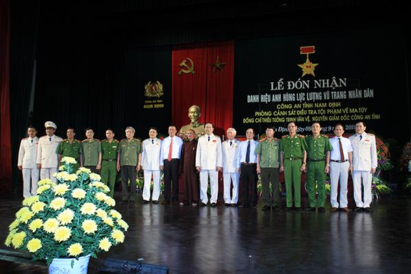Bộ trưởngTrần Đại Quang cùng với các đại biểu dự buổi Lễ