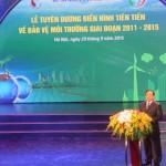 70 tấm gương điển hình tiên tiến về bảo vệ môi trường được tuyên dương 29-9
