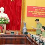 Họp báo giới thiệu trước thềm Đại hội Đảng bộ Công an Trung ương lần thứ 6