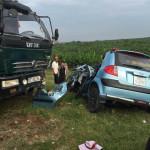 5 người thương vong trong vụ Taxi và xe tải tông nhau chiều 14-10