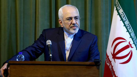 Ngoại trưởng Iran Mohammad Javad Zarif. Ảnh: AP