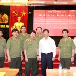 Hội thảo đúc rút kinh nghiệm trong đấu tranh phòng chống tội phạm