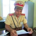 Thiếu úy Cảnh sát giao thông kể chuyện về những người không muốn sống