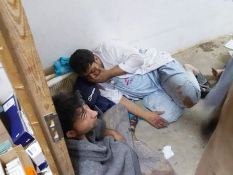 Nhiều nạn nhân bị thương vong nặng nề