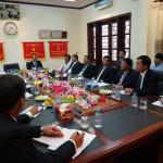 Thứ trưởng Thường trực Đặng Văn Hiếu hội đàm với Cơ quan đại diện BCA tại Lào