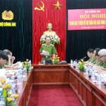Hội nghị về dự thảo Bộ luật hình sự (sửa đổi) trong CAND