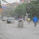 Thời tiết 18/9: Mưa to ở nhiều nơi, gây ngập lụt ven sông