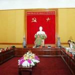 Đại hội Đảng bộ Công an Trung ương lần thứ VI được xúc tiến chuẩn bị
