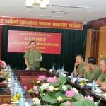 Phát huy truyền thống Uỷ ban kiểm tra Đảng uỷ Tổng cục Chính trị CAND