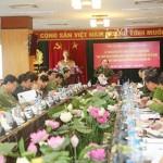 Lãnh đạo, nguyên lãnh đạo Tổng cục Chính trị CAND được trao huân chương