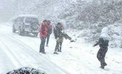 Theo chân giới trẻ Hà Thành lên SaPa ngắm tuyết rơi