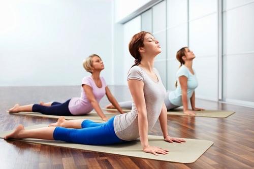 Dáng đẹp, eo thon nhờ yoga