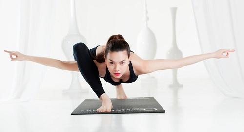 Tập yoga rất cần sự kiên trì.