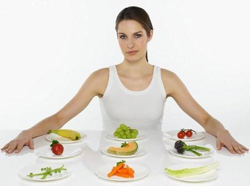 Ăn nhiều bữa là bí quyết để tăng cơ giảm mỡ cho các chị em.