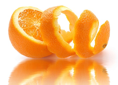 Cam và vỏ cam rất tốt cho da và giúp nhanh chóng chia tay mụn trứng cá