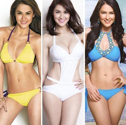 Ghen tị với vòng 1 gợi cảm của mỹ nhân đẹp nhất Philippines