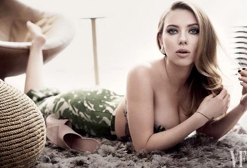 Mãn nhãn với vòng 1 quyến rũ của Scarlett Johansson