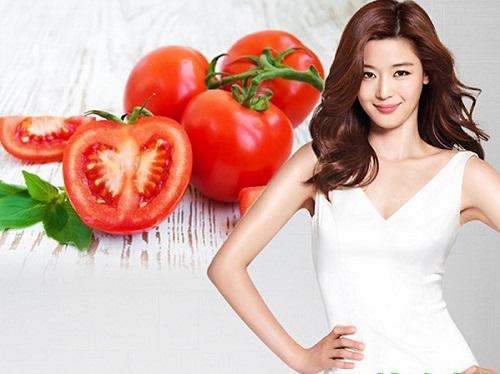 Cà chua là nguyên liệu giúp giảm cân nhanh chóng
