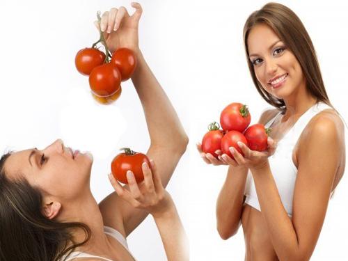 Cà chua không chỉ giúp giảm mỡ đùi mà còn giúp chăm sóc, nuôi dưỡng da sáng đẹp