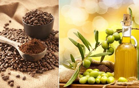 Bã cà phê và dầu ô liu có tác dụng vừa tẩy tế bào chết tốt, vừa dưỡng da tươi sáng, khỏe mạnh hơn