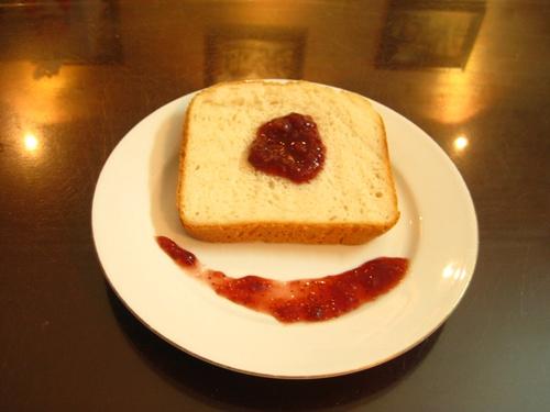 Nếu có thói quen ăn bánh mỳ kèm mứt bạn nên từ bỏ ngay