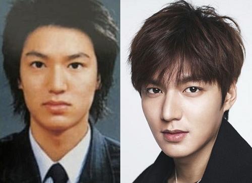 """Nói đến các diễn viên nam của Hàn Quốc không thể không kể đến anh chàng Lee Min Hoo. Anh sở hữu một gương mặt đẹp xuất sắc khiến bao fan hâm mộ nữ """"điêu đứng"""". Tuy nhiên, khi so sánh với những hình ảnh trước đây thì Min Hoo cũng đã có can thiệp phẫu thuật thẩm mỹ. Rõ rệt nhất đó là sự thay đổi ở dáng mũi của anh."""