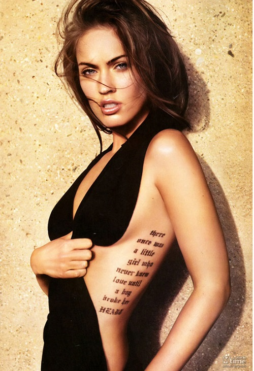 Mãn nhãn với vóc dáng gợi cảm của Megan Fox