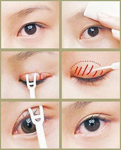 Miếng dán mí - dụng cụ tạo mí mắt đẹp