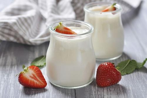 Sữa chua giúp tăng kích thước vòng 1 hiệu quả