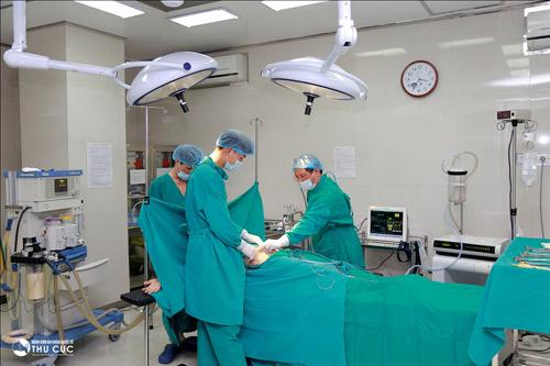 phương pháp giảm mỡ bụng bằng công nghệ Vaser Lipo của Bệnh viện Thu Cúc.