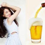 Những mẹo làm đẹp siêu hay từ bia
