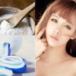 Tư vấn điều trị mụn bằng kem đánh răng và muối cho các nàng