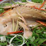 Món cá hấp gừng ngon đúng điệu