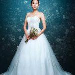 Váy cưới mùa xuân đẹp cho cô dâu Việt